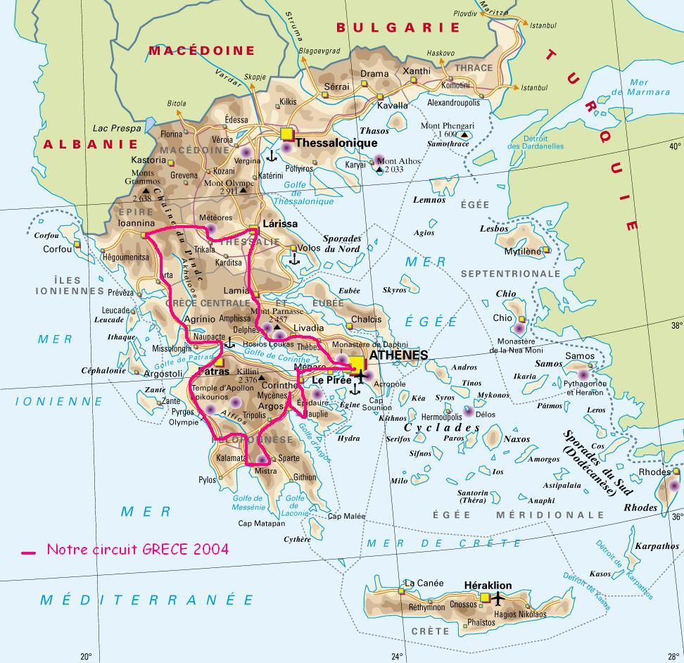 Un circuit en Grèce | The Mariga'Z Bulle