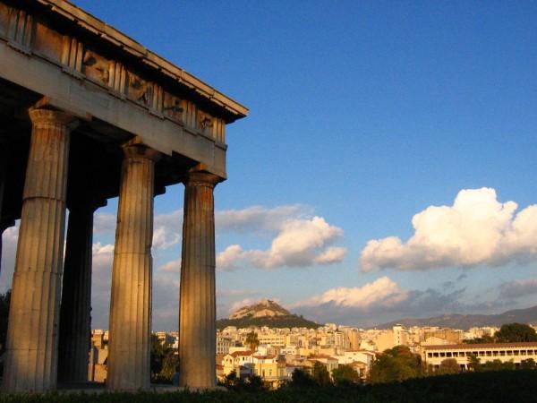 athènes Thesaion et Mont Lycabette