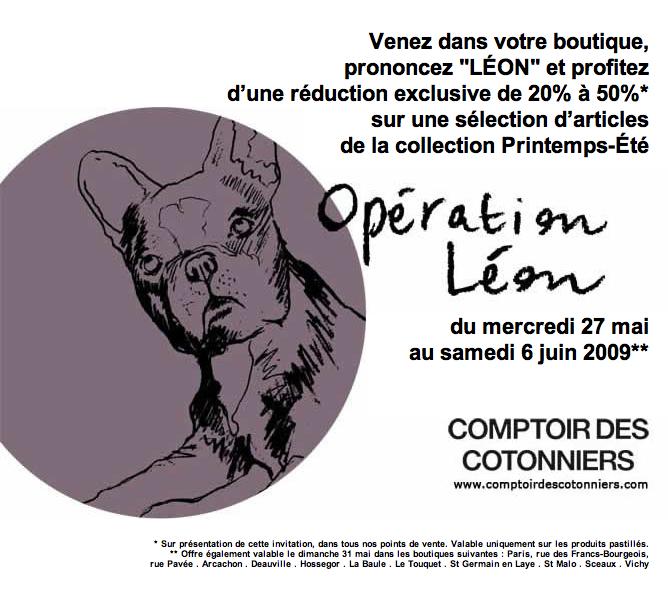 Invitation la vente presse eple melk pour les parisiennes et une r duc au comptoir pour - Reduction comptoir des cotonniers ...