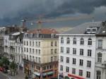 Un orage se prépare