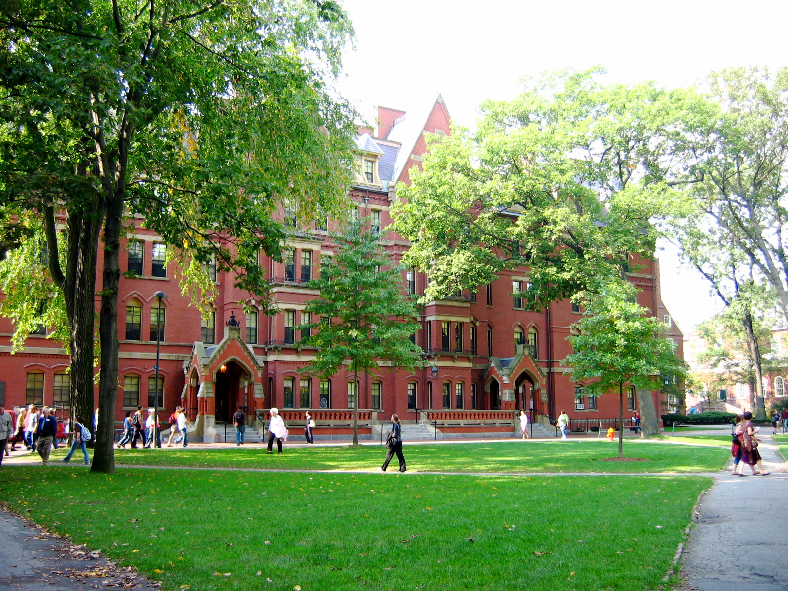 Le Campus D Harvard 224 Cambridge Massachussets 20 The